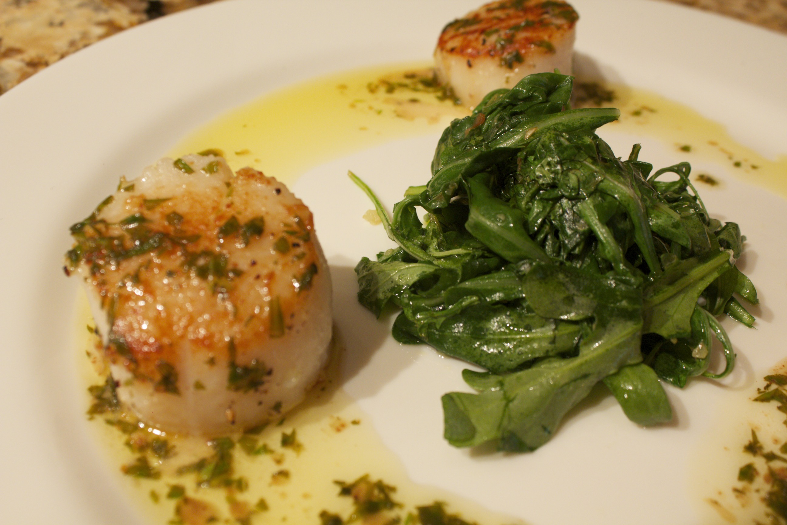 butter sauce recipe yummly seared scallops with tarragon butter sauce ...
