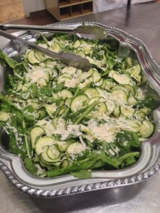 Shaved Zucchini Salad with Arugula and Parmesan