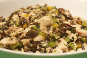Turkey Hash with Wild Rice